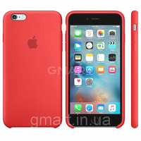 Чехол силиконовый Apple Silicone Case iPhone 6 Plus Red
