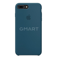 Чехол силиконовый Apple Silicone Case iPhone 8 Plus Navy Blu
