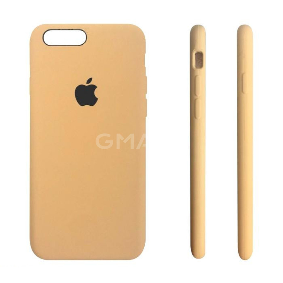 Чехол силиконовый Apple Silicone Case iPhone 7 Plus Mustard Beige