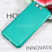 TPU чехол Mercury iJelly Metal series для Huawei P10 Plus синий