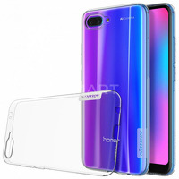 TPU чехол Nillkin Nature Series для Huawei Honor 10 прозрачный