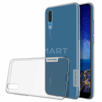 TPU чехол Nillkin Nature Series для Huawei P20 серый