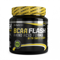 Аминокислоты в порошке BT BCAA Flash ZERO - 360г - бузина