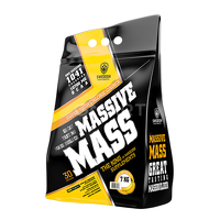 Высокобелковые гейнеры Swedish supplements - Massive Mass - 3,5 kg Banana Split