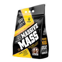 Высокобелковые гейнеры Swedish supplements - Massive Mass - 3,5 kg Heavenly Rich Chocolate