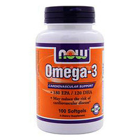 NOW_Omega-3 1000 мг - 100 софт кап, арт. 21134