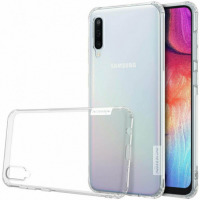 TPU чехол Nillkin Nature Series Samsung A505F Galaxy A50 прозрачный