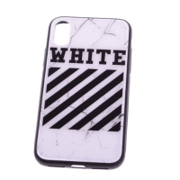 Чехол Off-White iPhone X белый