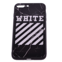 Чехол Off-White iPhone 7 Plus/8 Plus черный