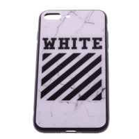 Чехол Off-White iPhone 7 Plus/8 Plus белый