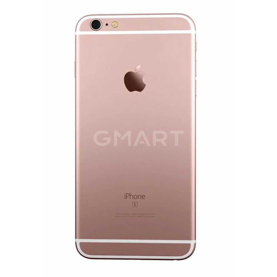 Корпус для iPhone 6S Plus розовое золото (Rose Gold)