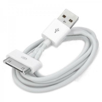 USB дата-кабель Bilitong iPod Video 80GB белый ( USB тип-A, 30 pin)