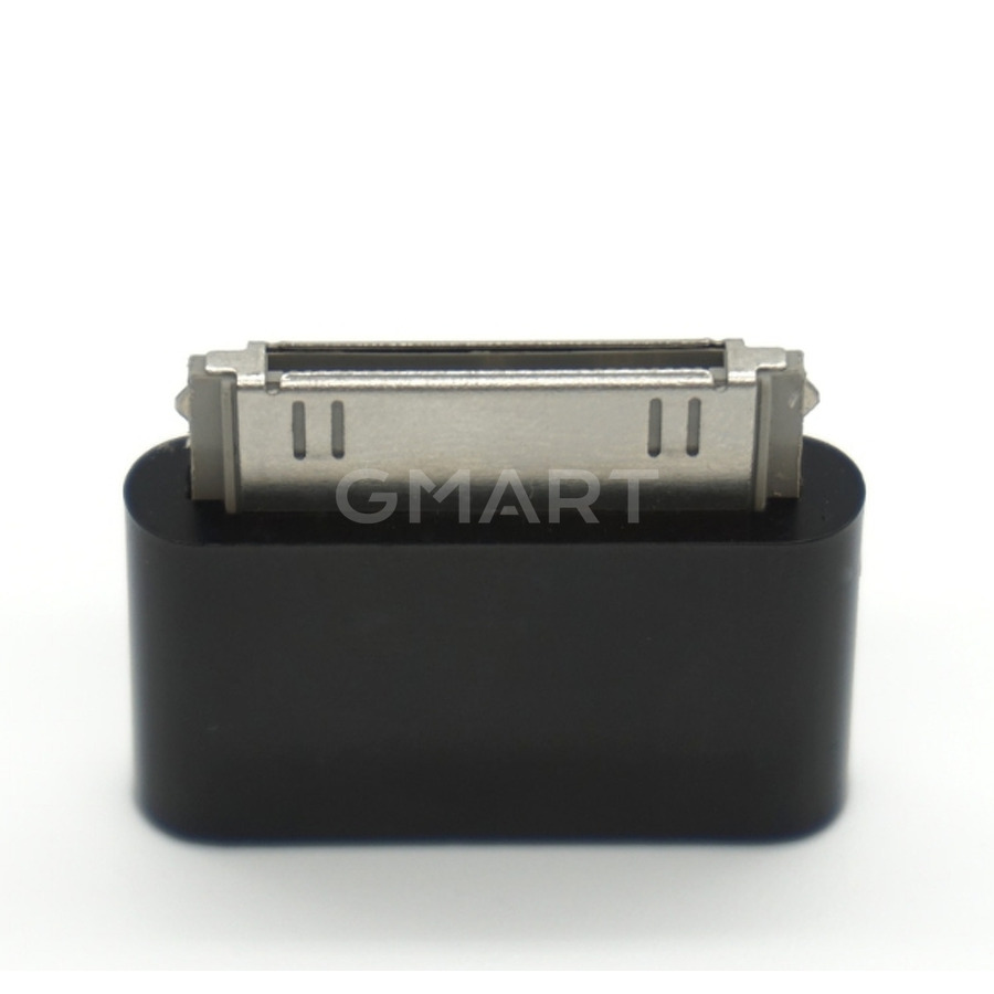 Адаптер micro-USB iPod Video 30GB черный (USB тип-B, 30 pin)